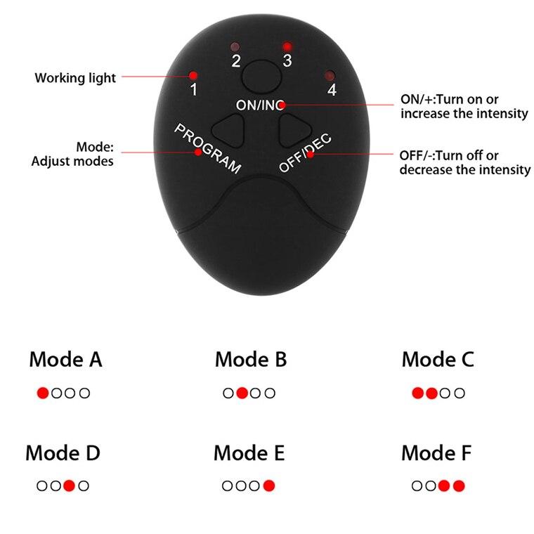 Замена умный контроллер Pad для Беспроводной EMS тренажер брюшной мышцы стимулятор мышц коврик из АБС-пластика для похудения Массажер для все...