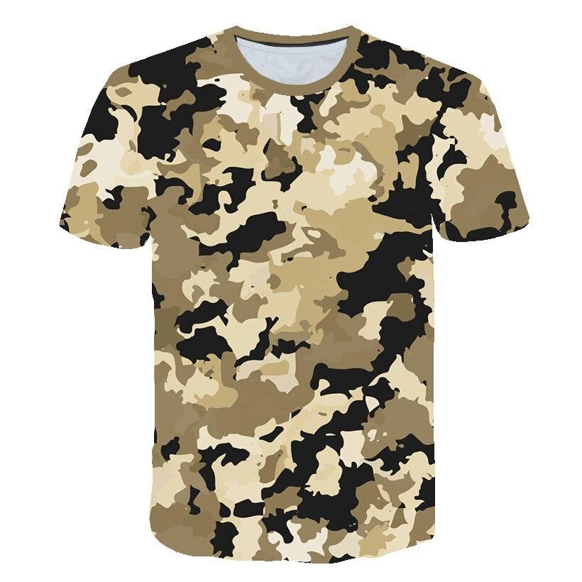 Children Boys Camo T-Shirts