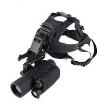 New RG55 HD Helmet night vision instrument green image infrared Monocular night vision instrument special for hunting and patrol
