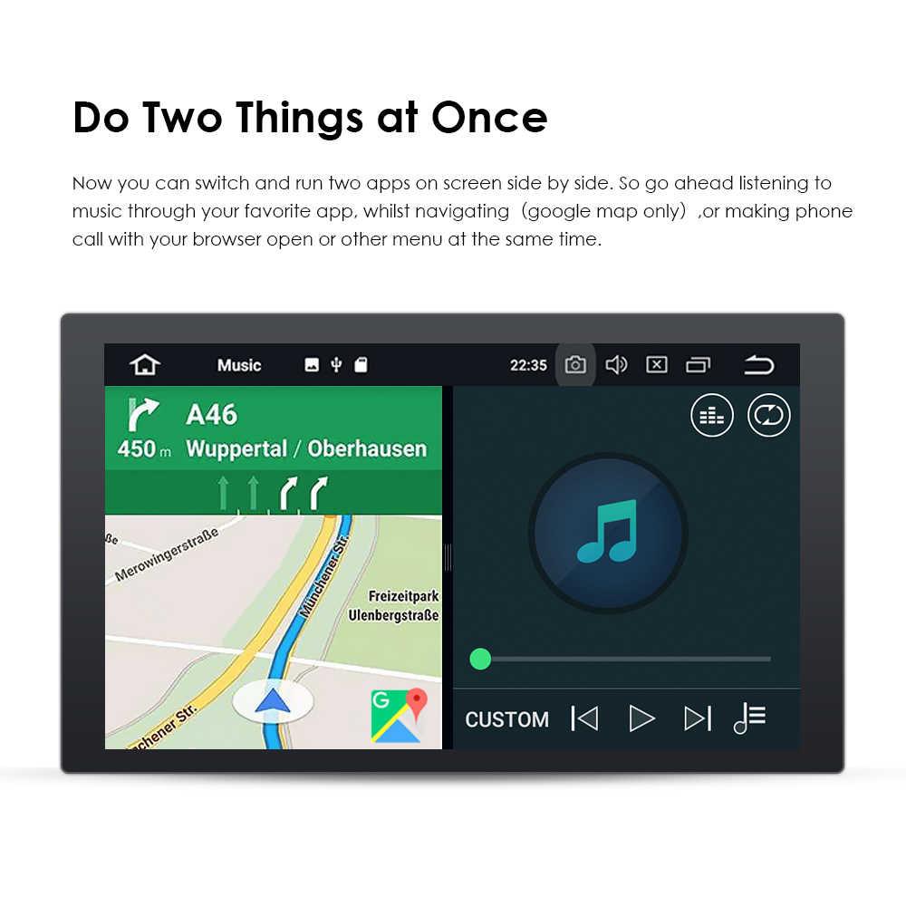 Android RDS IPS รถ GPS SAT NAV BT USB สเตอริโอวิทยุสำหรับ Toyota Prado HILUX Camry Tundra 4 runner Previa Highlander WIFI