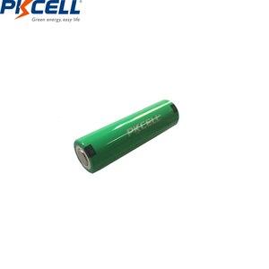 Image 3 - 4 adet PKCELL AA şarj edilebilir piller Ni MH 2000mAh 1.2V NiMH sanayi pil Bateria düz üst