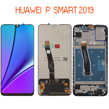 6.21 inch Original LCD Screen For Huawei-P Smart 2019 ,LCD Display  ,POT-LX1 POT-LX3 +Touch Screen Digitizer Assembly with Frame цена 2017
