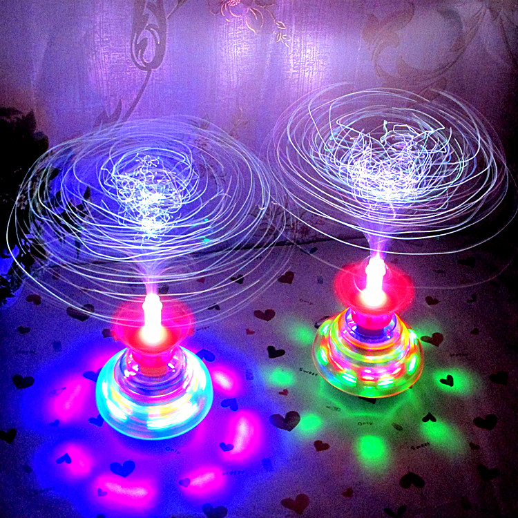 Ant Fiber Flashing Mini Gyro Interactive Toys Mini Games Moving  Electronics Kids Toys Spinner For Children