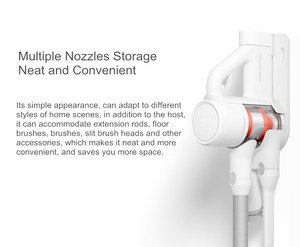 Image 4 - Xiaomi Wall Mount for MIJIA Handheld Wireless Vacuum Cleaner Charger Dock and Storage Holder 2 in 1