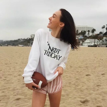Women Sweatshirt And Ladies Nottoday Printed Casual Pullovers Girls Long Sleeve Spring Autumn