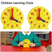 1PCS Student Learning Clock Time Learings Kids Educational Toys