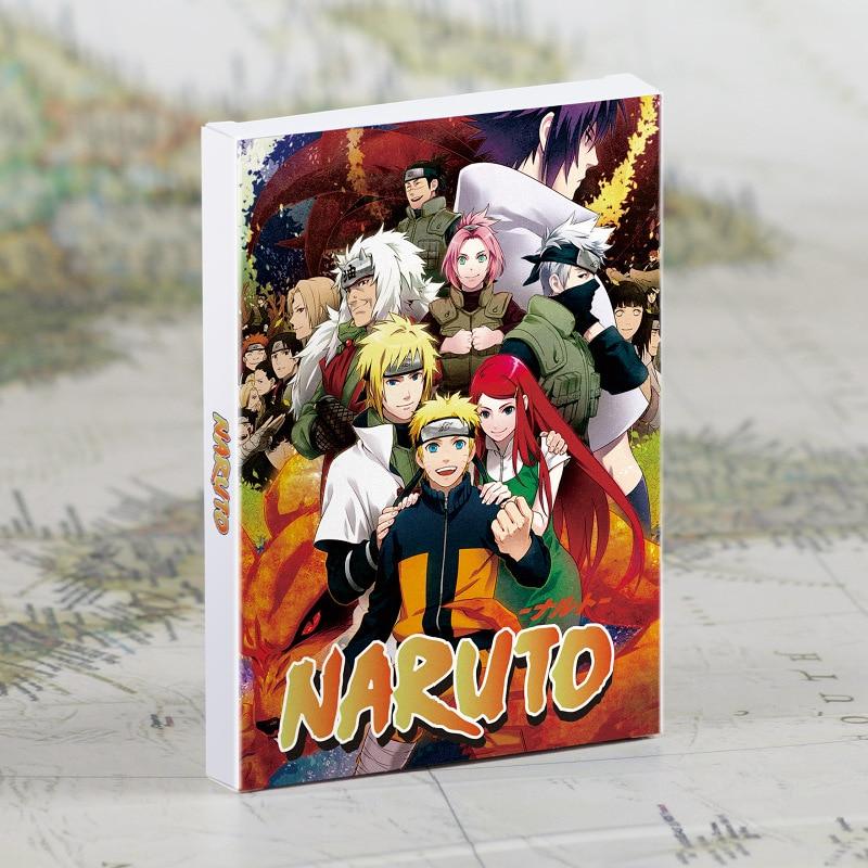 Retro Naruto Full Series Japanese Animation HD Postcard Greeting Card/Card/Poster Decorative Painting