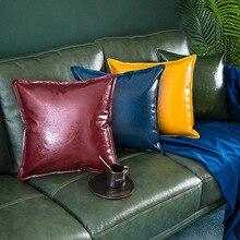 Pu Leather Pillowcase Sofa…
