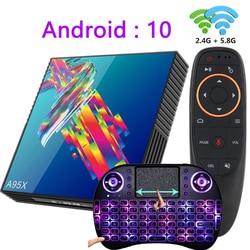 A95X R3 tv box Android 10 4k 2G 16G 4G 32G 64G 2.4G&5G WIFI BT4.2 smart tv boxes youtube mini RK3318 media player