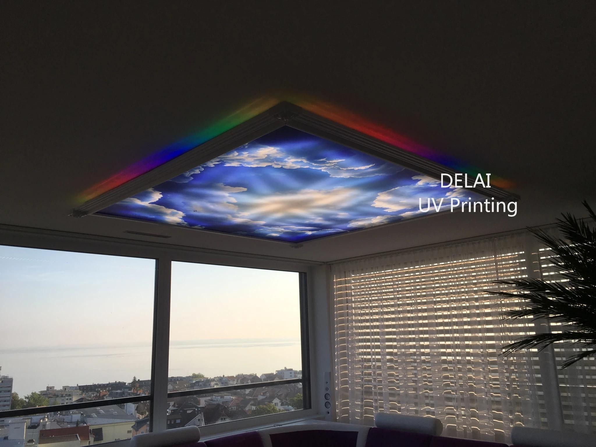 Shengxi 18048 Blauwe Hemel Met Wolken Printing Plafond Film Voor Workshop Plafond Decoratie Wallpapers Aliexpress