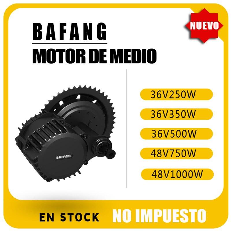 Bafang motor bafang BBS01B 250w 350w BBS02B 500w 750w BBSHD 1000w mitte motor conversion kit für fahrrad eletrica