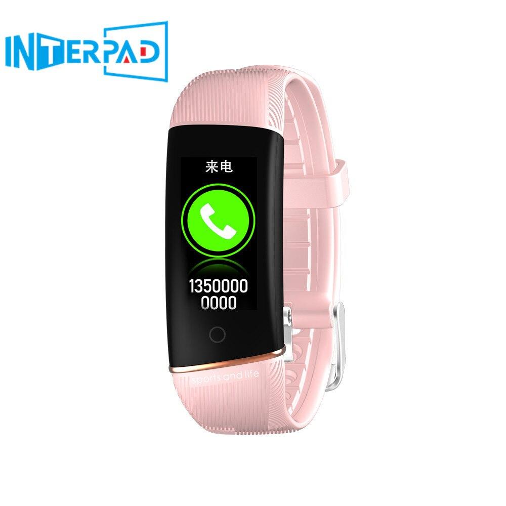 2019 E98 bracelet intelligent hommes femmes passomètre pression artérielle réponse appel étanche fréquence cardiaque Tracker bande intelligente pour Huawei ios