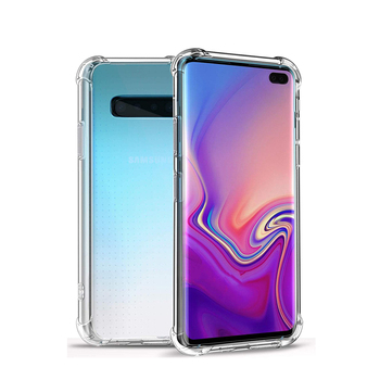 Air Cushion Clear Soft Case for Samsung Galaxy S20 Ultra S10e S10 5G Note 10 Plus A30 A40 A50 A70 Crystal Soft TPU Full Cover image