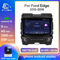 Android 10.0 System Car IPS Touch Screen Stereo For ford edge 2012 2013 2014-2015 years player Stereo