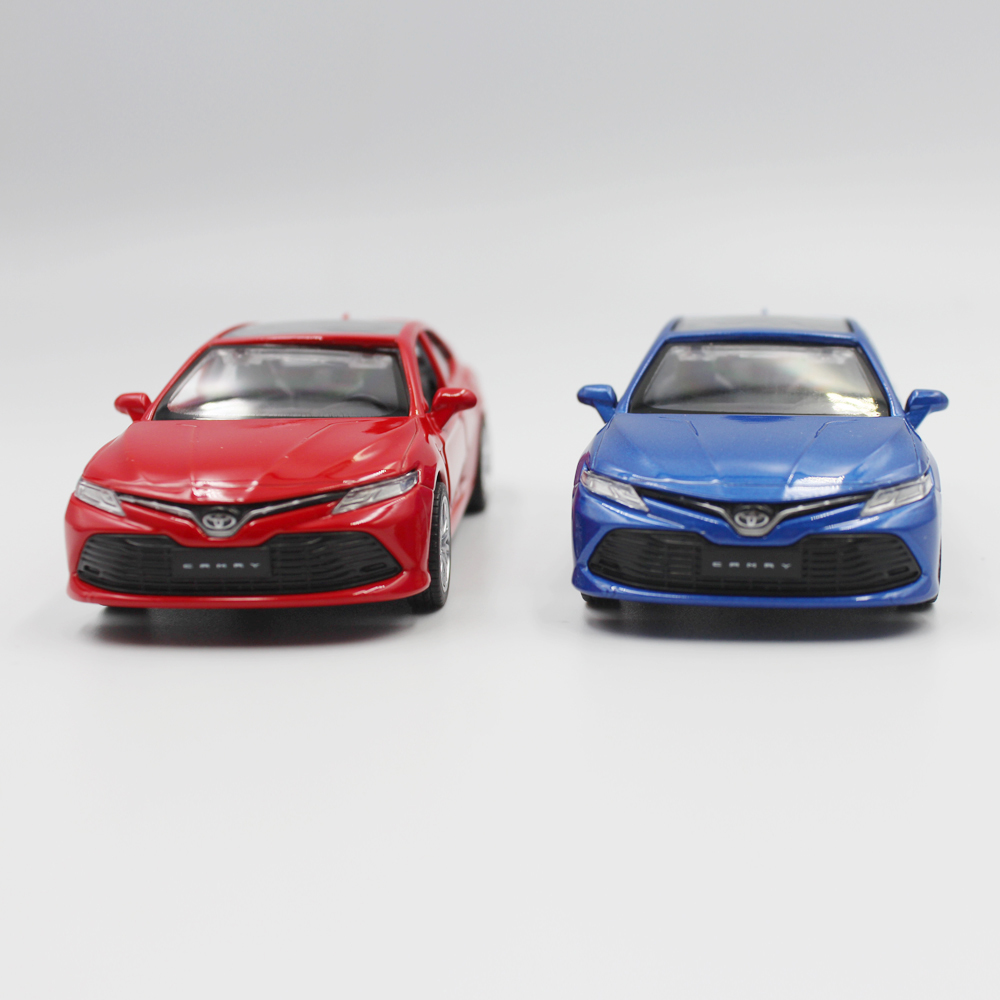 CAIPO <font><b>1:43</b></font> Toyota Camry Alloy pull-back vehicle <font><b>model</b></font> Diecast Metal <font><b>Model</b></font> Car For Boy Toy Collection Friend Children Gift image
