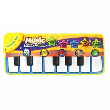 Infant Kids Baby Children Touch Play Keyboard Musical Music Singing Crawl Gym Carpet Mat Pads Cushion Rugs(China)