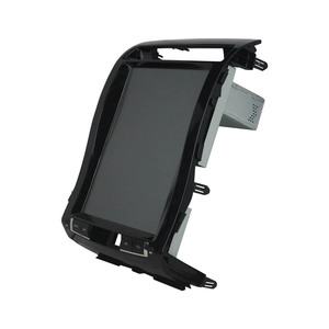 Image 2 - Smart Tesla Screen Navigation For TOYOTA Land Cruiser 2008 15 Android 8.1 Car radio GPS Rockchip PX3 PX6 recorder Car Multimedia