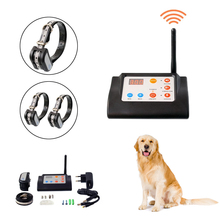 2 IN 1 Wireless Electronic Dog Fence System and Training Collar Beep Shock Vibration Function
