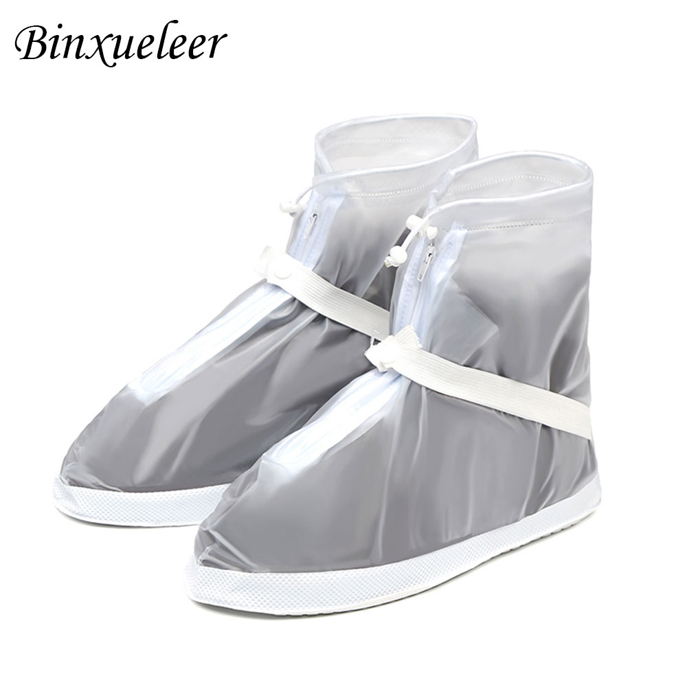 Reusable and Waterproof Shoe Protector to Cover Sneakers and Boots with Anti Slip and Wear Resistant Property Suitable for Men and Women 2