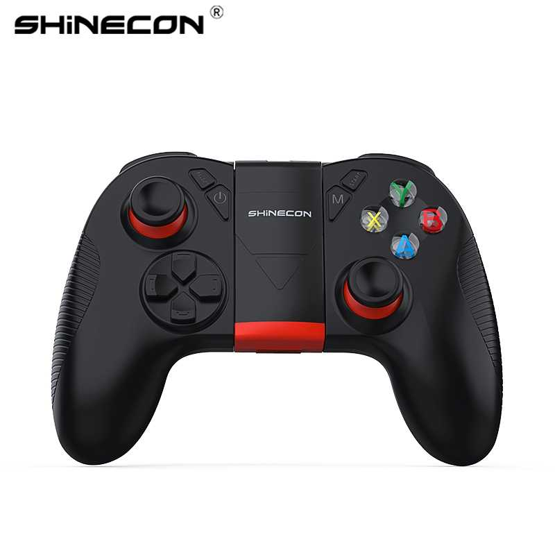 VR SHINECON B04 Drahtlose Bluetooth Gamepad Fern Game Controller Joystick Für PUBG Mobile
