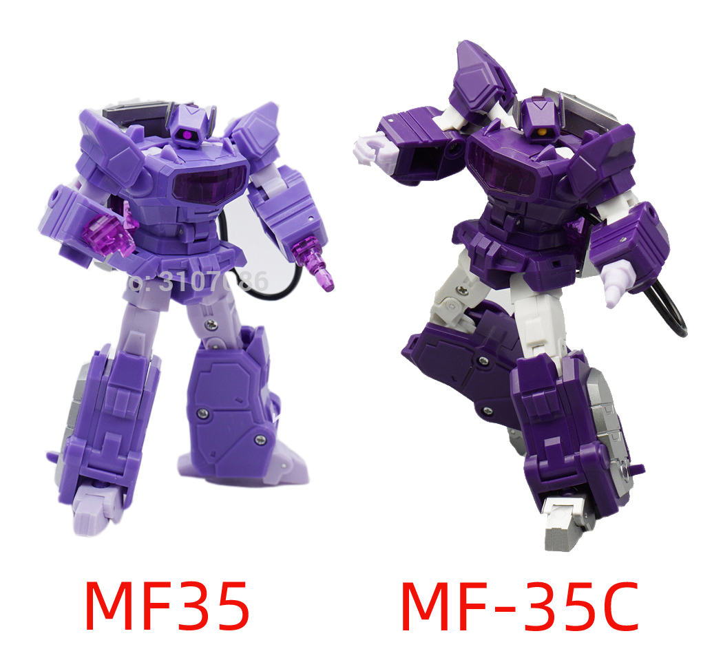 Transformers Shockwave MFT MF35C G1 shockblast MINI sostituibili a mano in magazzino