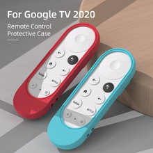 SIKAI Silicone Case for Chromecast with Google TV 2020 Voice Remote Shockproof Protective Cover for 2020 Chromecast Voice Remote