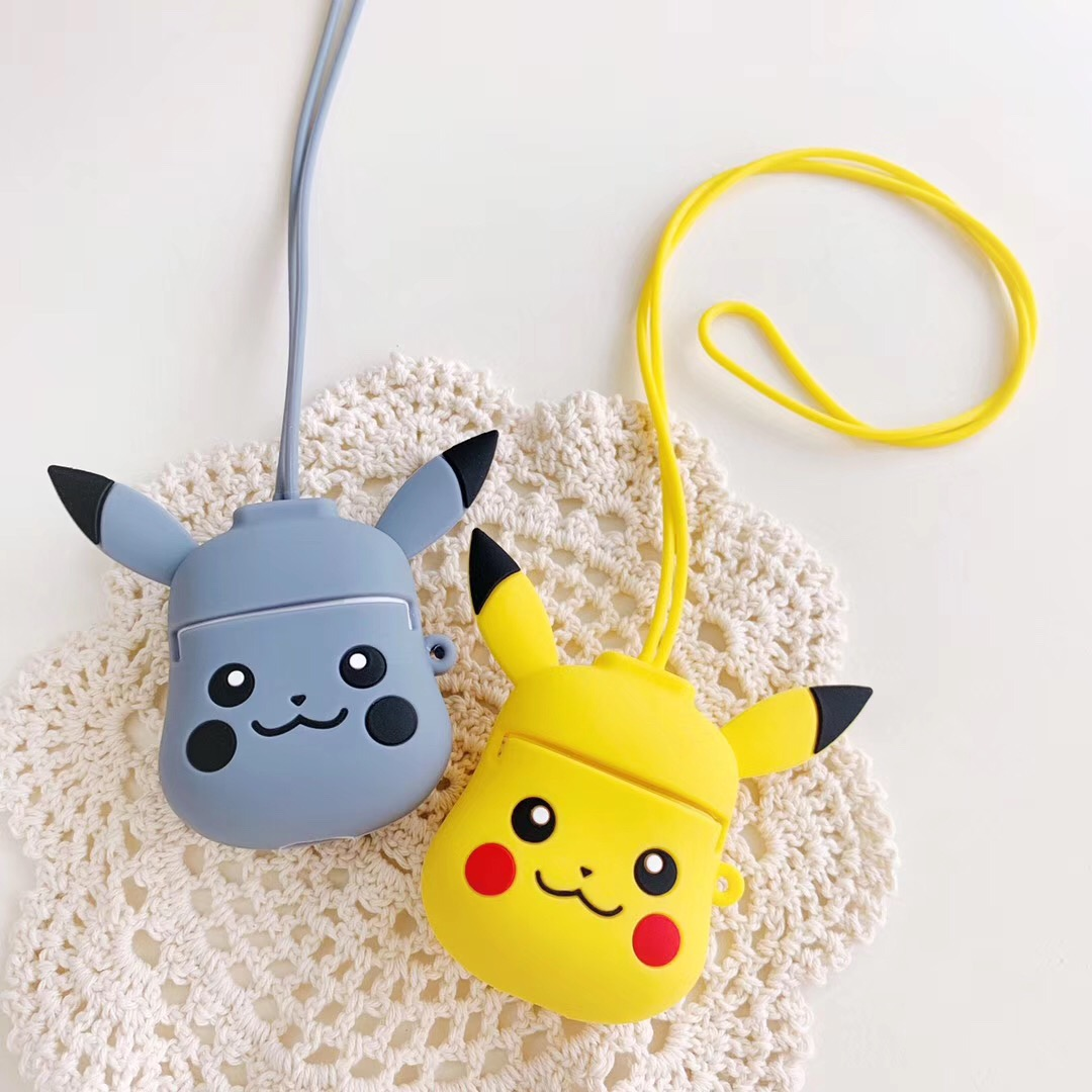 Cute Cartoon Headset case For AirPods 1:1 Case for <font><b>air</b></font> <font><b>pods</b></font> 2 i12 <font><b>tws</b></font> i10 i30 i11 i7s <font><b>i9s</b></font> i60 Bluetooth Earphone silicon cover image