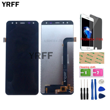 Mobile Touch Screen LCD Display For Leagoo S8 LCD Display Touch Screen Digitizer Assembly Repair Sensor Tools Protector Film недорого