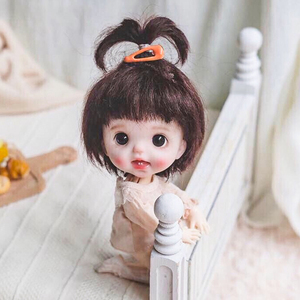 Hot 13 Moveable Jointed 16cm 1/8 Ob11 Dolls Mini BJD Baby Naked Girl Body Fashion Dolls Toy For Girls Gift(China)