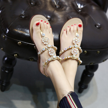 Directly Will Code Of Water Chain Flat Bottom Rome Pinch Sandals