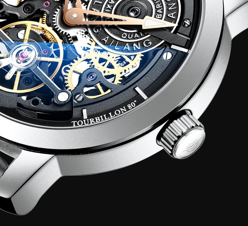 H7001d1a2679d4c8c986da3d61e228c96L AILANG Original design watch automatic tourbillon wrist watches men montre homme mechanical Leather pilot diver Skeleton 2019