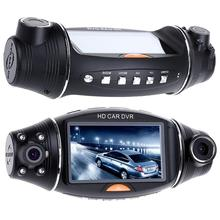 1080P HD Dual Lens 140° Dash Cam GPS Car DVR Video Recorder Camera G-Sensor Night vision Rearview