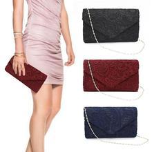 Ladies Handbags Luxury Designer 2019 Women Fashion Lace Clutches Evening