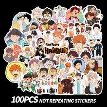 100 PCS stickers Haikyuu!!  Waterproof PVC TO THE TOP Fan gifts