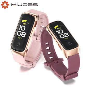 For Samsung Galaxy Fit 2 Straps Silicone  Bracelet Soft Sport Band Replacement Watchband For Samsung Galaxy Fit2 Correa 1