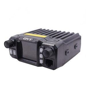 Image 4 - 2020 Versão mais recente Mini Rádio Móvel QYT KT 7900D 25W Quad Band 144/220/350/440MHz KT7900D UV transceptor ou com fonte de Alimentação