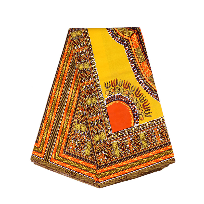 2019 New Arrivals African Traditional Dashiki Print Pagnes African Real Wax 6yard 100% Cotton