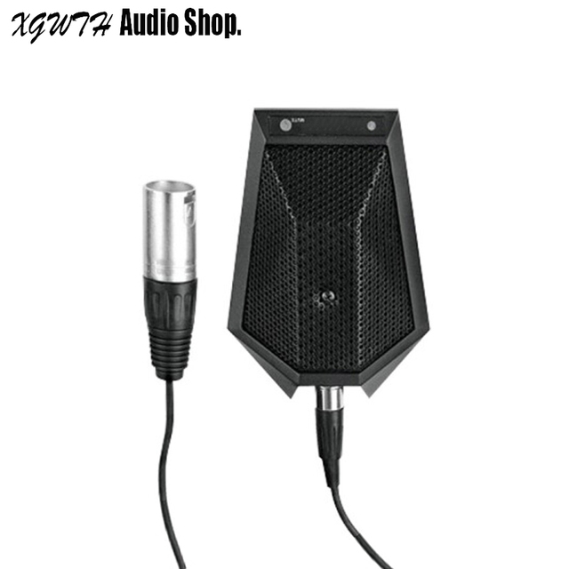 XLR 3Pin Omni Directional Desk Table Microphone Conference Meeting Noise Echo Canceling with Connection & Speech Phantom Power