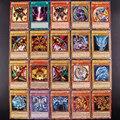 100 шт. Yu Gi Oh японское аниме 100 разные английские карты крыло дракон гигантский солдат небо Дракон флеш-карта детская игрушка подарок