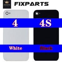 Cover posteriore per iPhone 4s 4G 4s coperchio posteriore batteria sportello batteria parti di ricambio custodia in vetro per iphone 4 Cover posteriore
