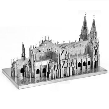 Architecture 3D Metal Puzzles World  14