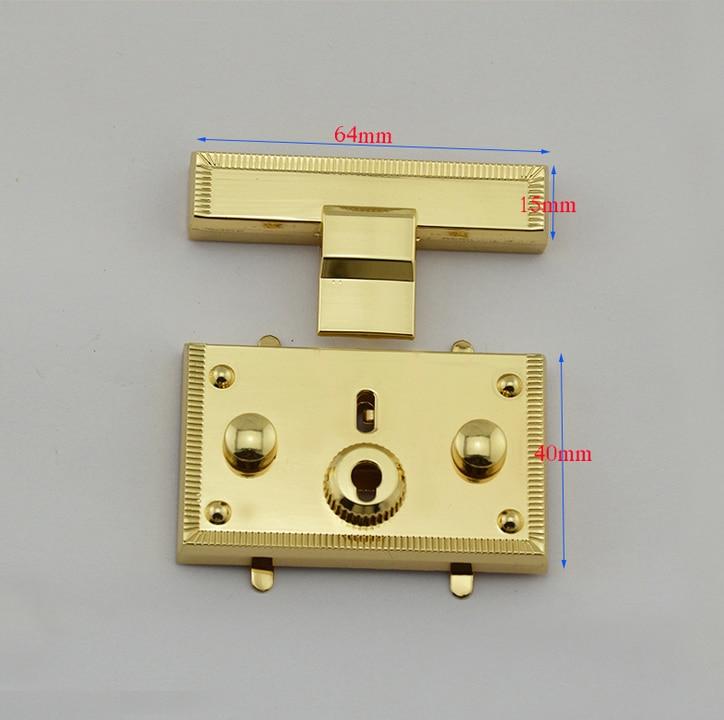 10 tonalit/à bronzo Sourcingmap Borsa a mano in metallo con chiusura a gancio