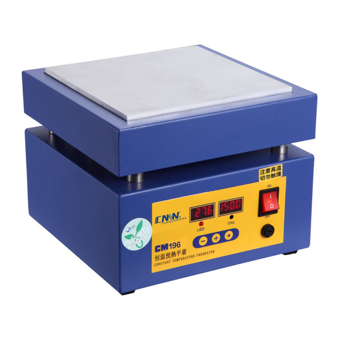 Lead Free PCB Soldering Constant Temperature Preheater Digital Display Precise Control Heating Station 0-400C 220V 110V 1200W