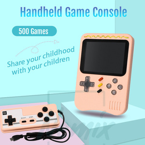 Image 1 - Video Game Console, Handheld Portable Console,  Built in 400 Retro Games, Support Double Player, Gift For Kids, 2020 New Upgrade
