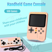 Video oyunu konsolu, el taşınabilir konsolu, dahili 400 Retro oyunları, destek çift oyuncu, çocuklar için hediye, 2020 yeni yükseltme