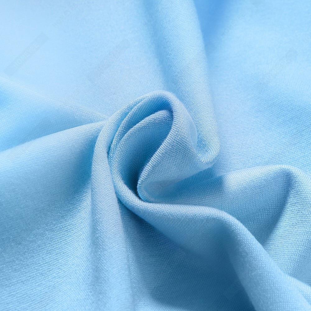 Women Brief Solid Color Classy Side Bow O Neck Fashion Slim Business Bodycon Pencil Dress EB622 5