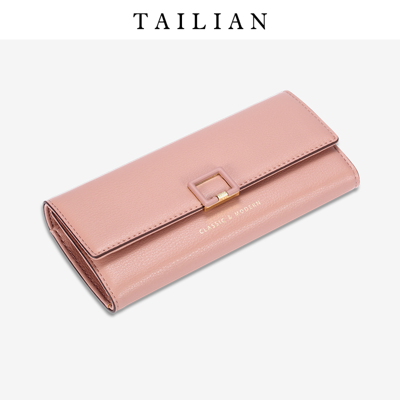 Tailian Wallet Female PU Women Wallet Card Holder Women Wallet Purse Female Long Classic Design