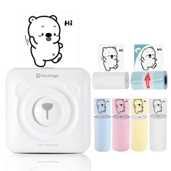 PeriPage Mini Stampante Termica Portatile Pocket Photo Printer Connessione Bluetooth Con Il Telefono Cellulare Android iOS 58 millimetri 203 DPI