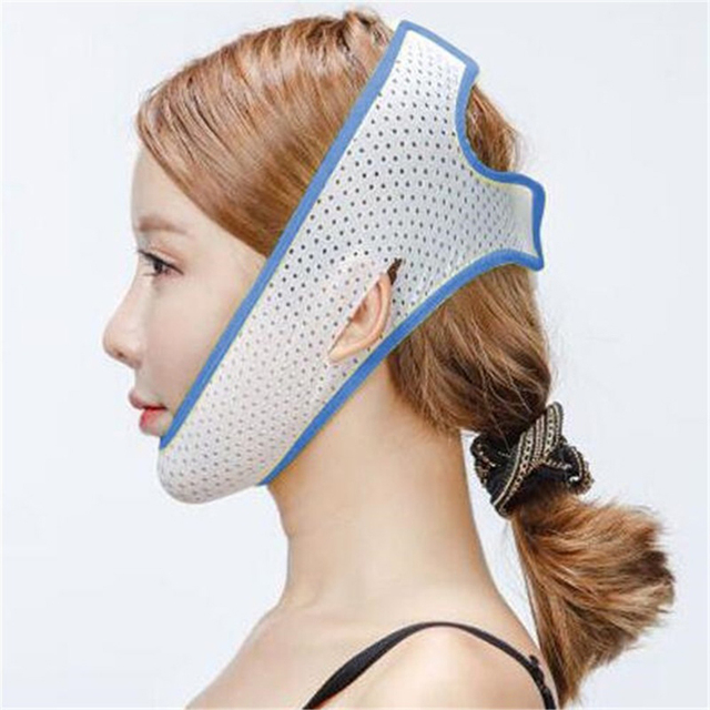 Face Lift Up Mask Bandage Care Chin Cheek Beauty Slimming Belt V-Line Face Lifting Facial Slimming Beauty Anti-Aging Tool 4