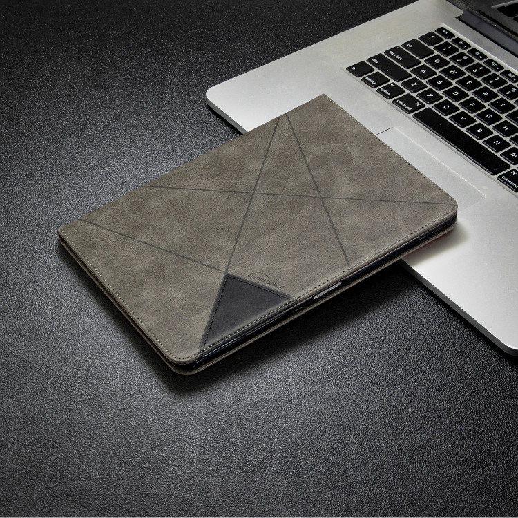 Gray Red Case For iPad Pro 12 9 2020 2018 With Wallet Holder PU Leather Cover Silicone Soft